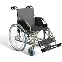 Trendmobil Rollstuhl TMB Faltrollstuhl inkl. Trommelbremse Reiserollstuhl mit Steckachsensystem Sitzbreite 48 cm