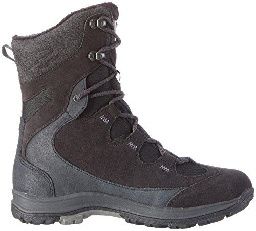 Jack Wolfskin Damen Thunder Bay Texapore High W Trekking-& Wanderstiefel Schwarz (Phantom 6350)