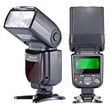 Neewer NW-670 TTL Flash Speedlite with LCD Display for Canon 7D Mark II,5D