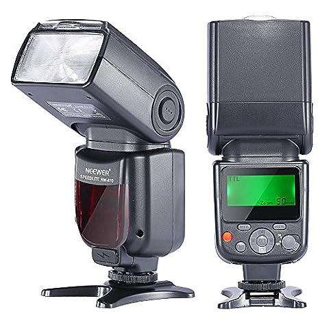 Neewer® NW670 (zweite Generation von VK750II) E-TTL-Flash Blitz Blitzgerät für Canon EOS 700D 650D 600D 1100D 550D 500D 100D 6D, Rebel T3 T5i T4i T3i T2i T1i SL1, 1Ds Mark III, 1Ds Mark II, 5D Mark III, 5D Mark II, 1D Mark IV, 1D Mark III und alle anderen Canon