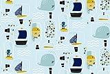 Nooteboom - Jersey Stoff für Kinder Meterware