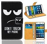 FoneExpert® Huawei Ascend G7 Handy Tasche, Wallet Case Flip Cover Hüllen Etui Ledertasche Lederhülle Premium Schutzhülle für Huawei Ascend G7 (Pattern 15)