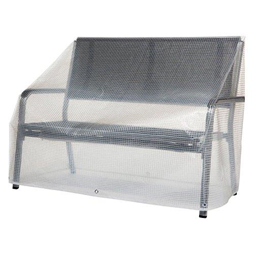 Heinemeyer Abdeckhaube für Gartenbank Classic Line transparent 120x60x60/80 cm