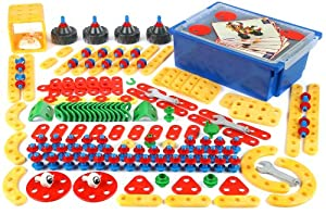 Theo Klein - Technico, caja con herramientas, 218 piezas (8707)