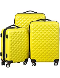 Carry Trip Hard-Side| Luggage Set Of 3 Trolley|Travel|Tourist Bags (55, 65 & 75 Cm)