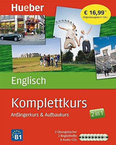 Komplettkurs Englisch: Anfängerkurs & Aufbaukurs / Paket: 2 Übungsbücher + 8 Audio-CDs - Des 3 Böse Geldes Seite