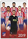 Calendario2019-12 lámina A3 Atlético de Madrid
