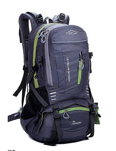 HWB/ 40L L Rucksack Camping & Wandern / Reisen Draußen Wasserdicht andere Nylon N/A gray