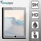 SmarTect®Apple iPad 4 / 3 / 2 (9.7'') Premium Gorilla Glas Display-Schutzfolie aus gehärtetem Panzerglas   Hart-Glas   Tempered Glass Schutzglas gegen Kratzer dank Härtegrad 9H (gerundete Kanten)
