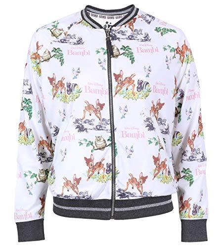 -:- Bambi -:- Disney -:- Aufknöpfbare Bluse S (Disney Sweatshirt Damen In)