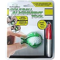 Pride Neil Self Softspikes - Herramienta de pelota de golf, tamaño único, color verde