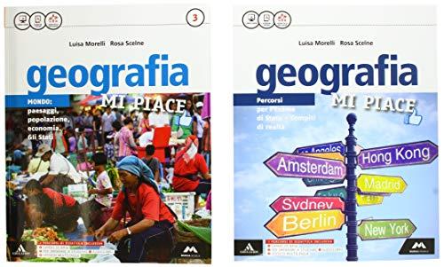 Geografia mi piace. atlante-fascicolo. per la scuola media. con e-book. con 2 espansioni online: 3