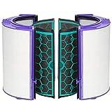 Simuke TP04 Filtro per Dyson DP04 HP04 Pure Cool Purifier Fan Fan Filtro in vetro HEPA e filtro interno a carboni attivi di ricambio per 969048-02