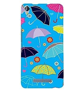 Fabcase cool umberella floral design Designer Back Case Cover for Micromax Canvas Juice 3 plus Q394