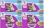 Whiskas Katzenfutter 1+ für erwachsene Katzen - saftige Fisch-Auswahl in