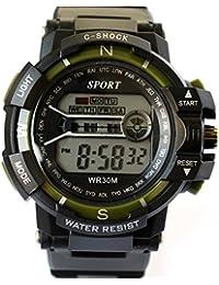 VITREND ™ C-Shock Water Resist-Cold Back Light-Stander Display Sports Digitl New Watch - For Men & Women