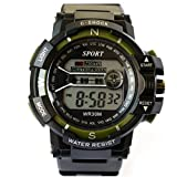 VITREND C-Shock Water Resist-Cold Back Light-Standard Display Sports Digital Watches for Men and Women(Random Colors Will be Sent)