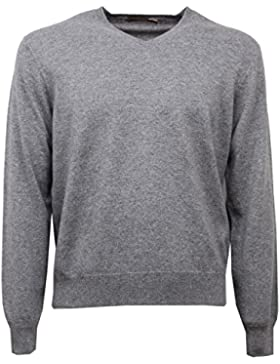 D6270 maglione uomo grigio CRUCIANI grey cashmere sweater man [48]