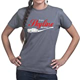 Enjoy Skyline Cola R32 R34 Ladies T shirt