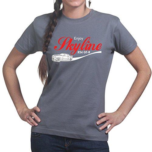 customised-perfection-t-shirt-stampa-colletto-crew-maniche-corte-donna-grigio-xx-large