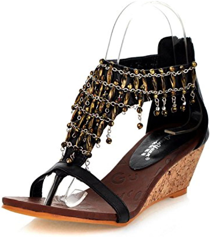 la pente zhxuanxuan été escarpins escarpins escarpins chaussures sandales à talon b07f6f1z34 parent   élégante  4c7752