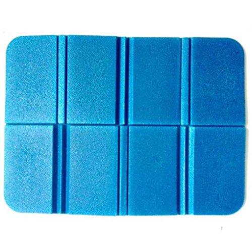 ELENXS, Outdoor, Eva-Matte tragbar faltbar, wasserdicht, Sitzkissen Kissen, blau