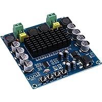 Numérique Bluetooth pouvoir Amplificateur Ampère Ampli Joint, yeeco double canal 100W + 100W audio stéréo amplificateur Audio Récepteur pour maison théâtre Enceinte DIY DC 12–24V motorisé