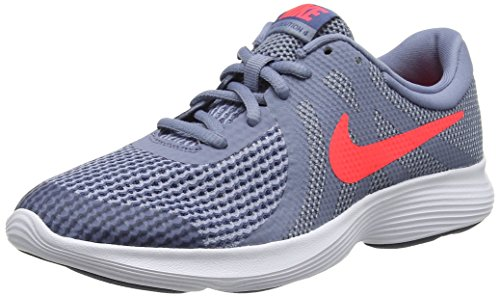 best sneakers e5b18 eaa31 Nike Revolution 4 (GS), Zapatillas de Running para Niños, Gris (Ashen
