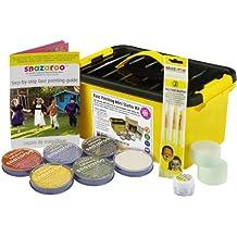 Kit Pittura Per Il Viso Professionale Oltre 300 Pitture Possibili + Guida Snazaroo