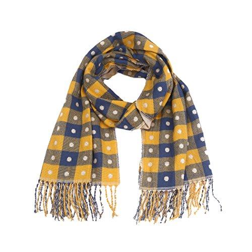 VLUNT - Poncho - Femme 191-yellow