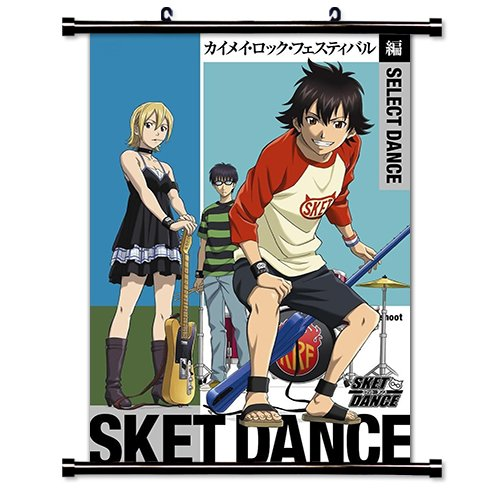 SKET Anime Fabric Wall Scroll Dance Poster (16 x 23 cm.) [] -SKE-WP 18