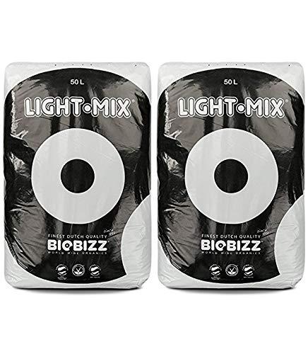 """10, 20, 50 L, BioBizz """"Light Mix"""", terriccio organico per piante, idroponico, biologico (etichetta in lingua italiana non garantita)"""