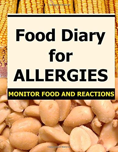 Food Diary for Allergies: Monitor Food and Reactions by Frances P Robinson (2015-03-06)