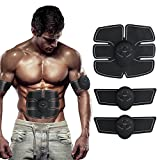 Abdominal Muscle Toner Body Toning Fitness Training Gear Abs Fit Training ABS Fit Weight Muscle Training Ab Belt Toning Gym Workout Machine, Smart Home Fitness Apparatus Unisex Support For Men & Women