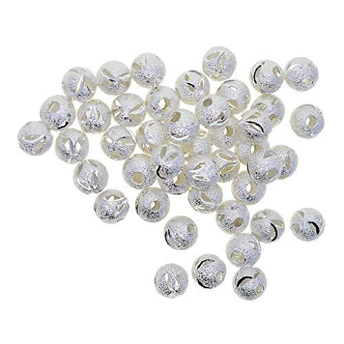 iert Mixed Charms Beads Perlen mit Groß-Loch Metallperlen Zwischenperlen Dekoperlen Schmuckperlen für Schmuck DIY ()