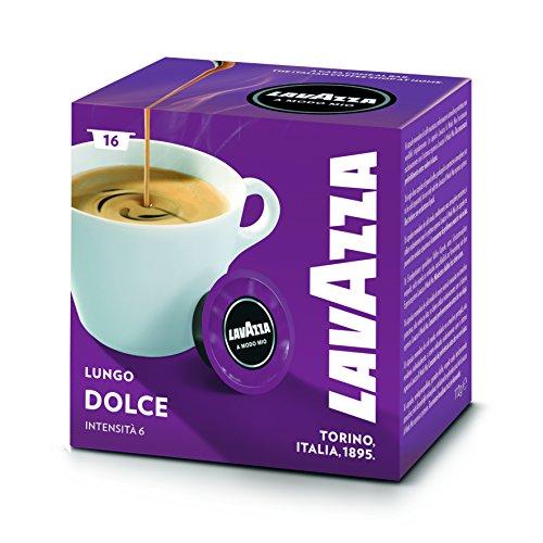 Buy Lavazza Dolcemente Caffe Crema Coffee Pod Capsules x 16 - Lavazza