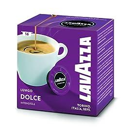 Lavazza A Modo Mio Lungo Dolce Coffee Capsules (4 Packs of 16) 51l6vIp00HL