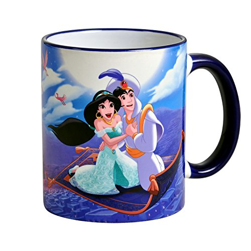 Disney Aladdin Tasse A Whole New World Jasmin 320ml von Elbenwald Keramik (Disney Keramik)