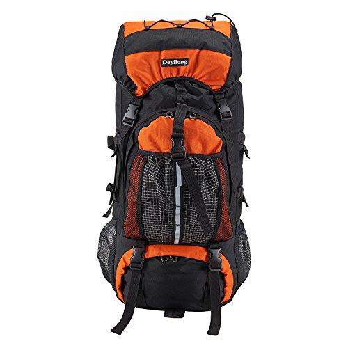 Imagen de huntvp  de alpinismo  deportiva  con cubierta de lluvia gran  impermeable 65l para las actividades aire libre senderismo caza viajar etc color rojo alternativa