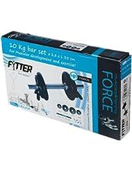Fytter Bar Set - Mancuerna de discos de 10 kg