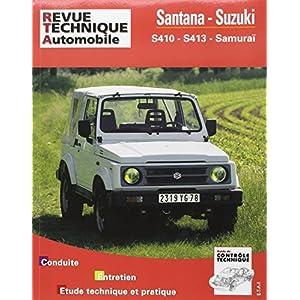 Revue Technique 502.5 Santana et Suzuki S 410 et 413 (82-94)