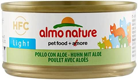 Almo Nature : Aliment Almo Nature Light Chat Poulet 70g