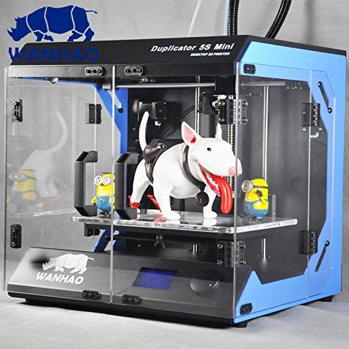 IMPRESORA 3D WANHAO D5S MINI - MODELO NOVIEMBRE 2014 - POR TECHNOLOGYOUTLET
