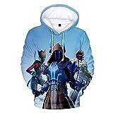 Men And Women 3d Digital printing Jacket With Hat Unisex Long sleeve Full Print Plus Velvet Leisure Big Pocket Pullover Hooded Sweater Sweatshirt,C,XL