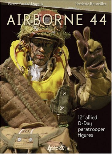 Airborne 44: 12 Inch Allied D-Day Paratrooper Figures: 12