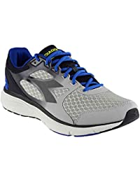 Diadora Men's Run 505 Gray/Royal Athletic Shoe