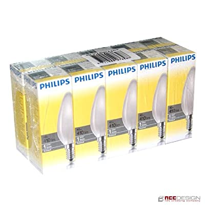 10 x Philips Glühlampe Glühbirne Kerze 40W E14 MATT Glühbirnen Glühlampen 40 Watt von Philips - Lampenhans.de
