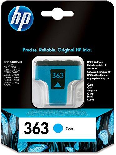 HP 363 Blau Original Druckerpatrone für HP Photosmart (Hp D7260 Photosmart)