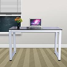 Mesa de ordenador de oficina 120 x 60 x 74cm (negro)