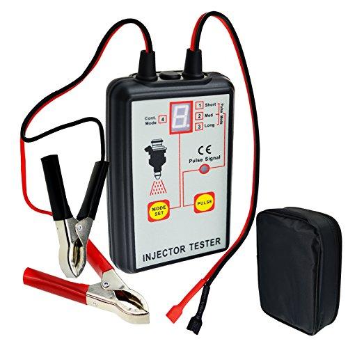 Nuova e migliorata 12V veicolo batteria auto strumento diagnostico automobilistico pompa iniezione carburante iniettore tester per dispositivi test Tool 4modi per Stuck Leaking burnt-out condizione